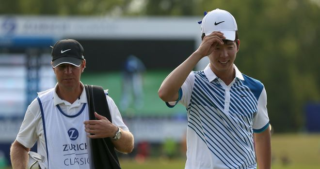 Seung-Yul Noh: Held his nerve to clinch victory, signing for a final round of 71