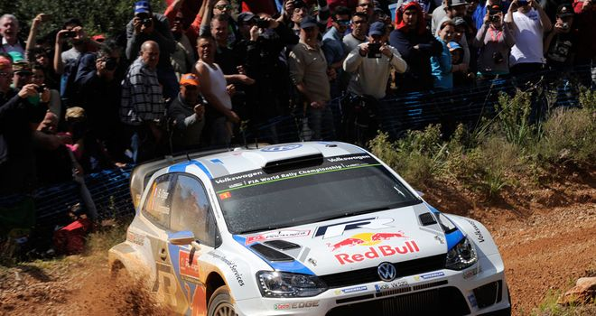 Sebastien Ogier: Early leader at Rally of Porrtugal