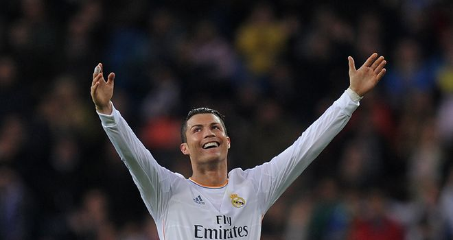 Cristiano Ronaldo was back to top form on Saturday night