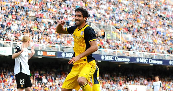 Raul Garcia: Scored the only goal of the game on Sunday