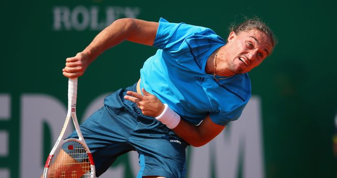 Alexandr Dolgopolov: Powered through against Ernests Gulbis in Monte Carlo