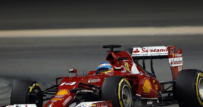 Fernando Alonso: Felt he had a lack of power