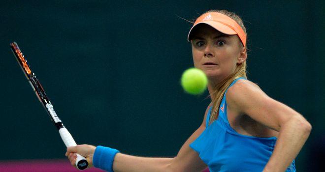 Daniela Hantuchova: Slovakian will face Romina Oprandi in semi-finals