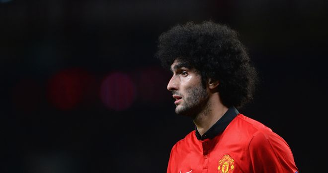 Marouane Fellaini: Linked with Napoli but Manchester United have yet to decide on his future