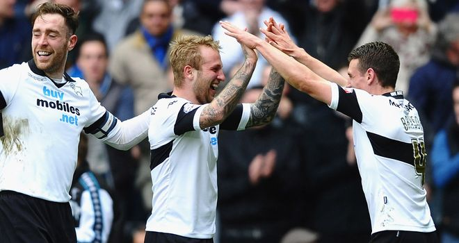 Johnny Russell: Started Derby's recovery with an equaliser