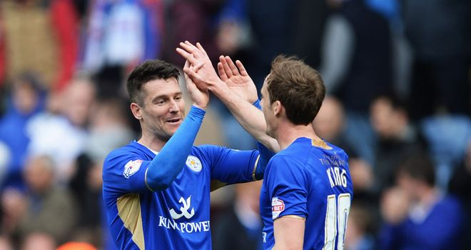 David Nugent: Helped Leicester to sign off with a victory