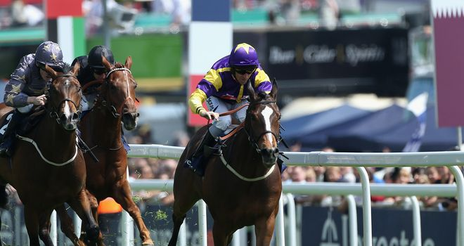 Resurge: Has a fantastic record at Epsom