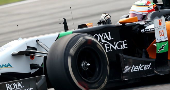 Nico Hulkenberg: Two fifth, and two sixth, places so far in 2014