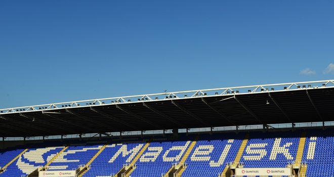 Madejski Stadium: Reading announce partnership