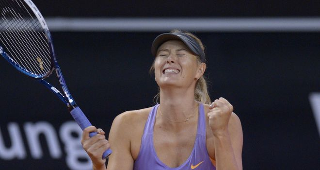 Maria Sharapova: Another triumph in front of her German fans