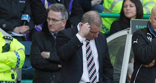 Ally McCoist: Rangers boss unhappy with Charles Green's timing
