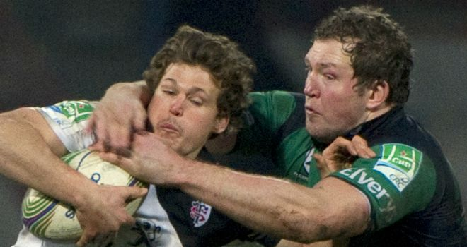 Michael Swift: In action against Toulouse on the right is set for a 15th season with Connacht