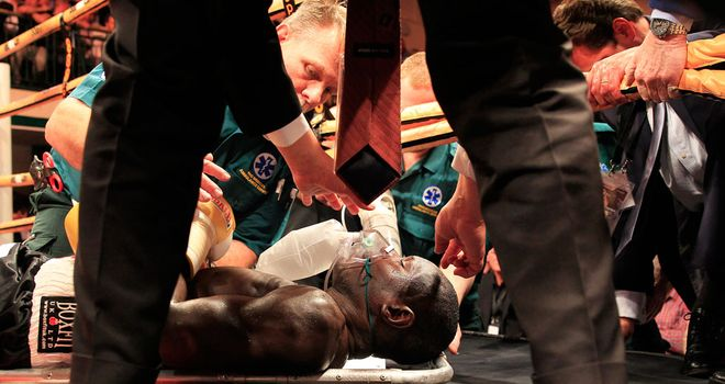 Erick Ochieng: Recovering after health scare in Prizefighter