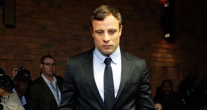 Oscar Pistorius: Set to step back into the Pretoria court
