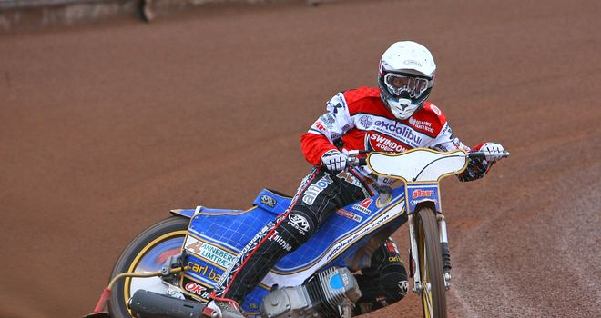 Nicolai Klindt - key role in Swindon victory (pic: by Les Aubrey)