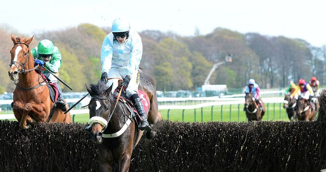 No Planning meets the final fence on a better stride to secure success under Ryan Mania