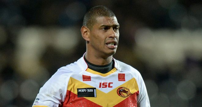 Leon Pryce: had a hand in three of four Catalan tries