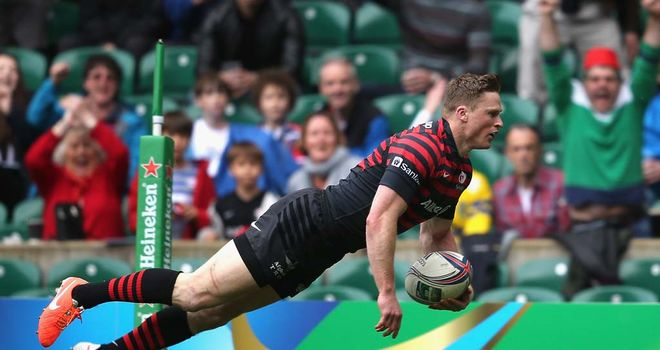 Chris Ashton: Backed by Quins' Danny Care