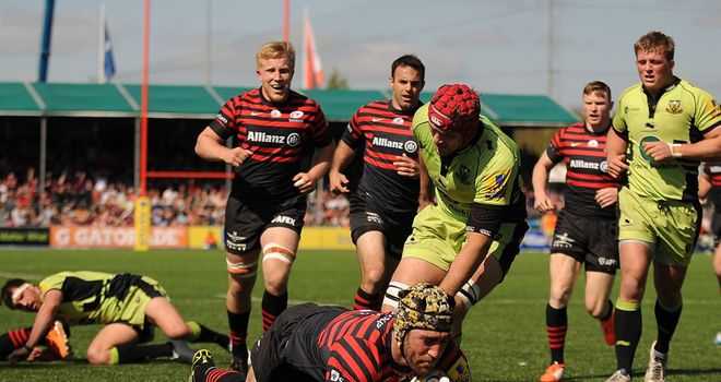 Northampton lost to leaders Saracens last time out