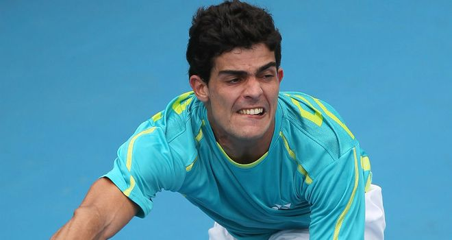 Rui Machado thrashed Dmitry Tursunov without dropping a game