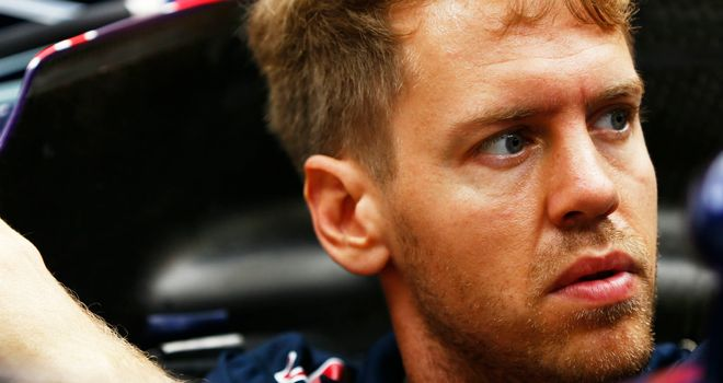 Sebastian Vettel: Not at his best so far in 2014