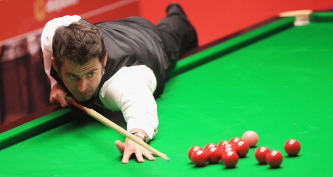 Ronnie O'Sullivan: 10-4 victory against Robin Hull on day one at the Crucible