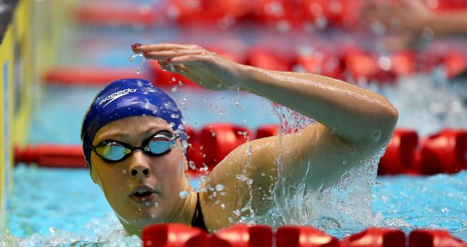Siobhan Marie O'Connor: Named in England's Commonwealth Games swimming team