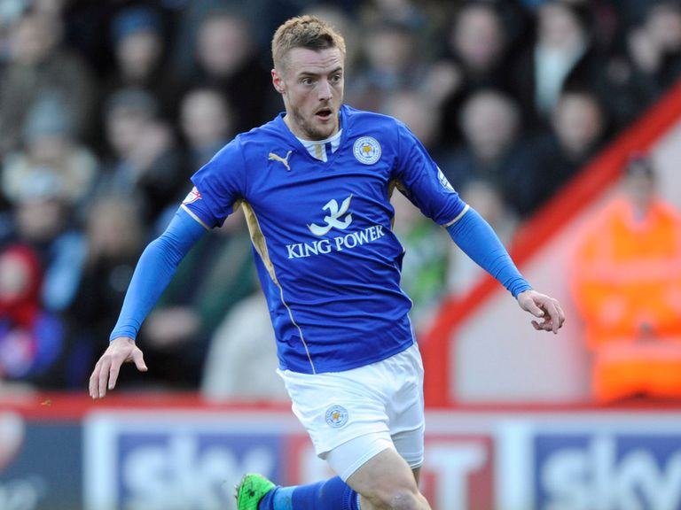 Jamie Vardy: Was a key player in helping Leicester win promotion last season