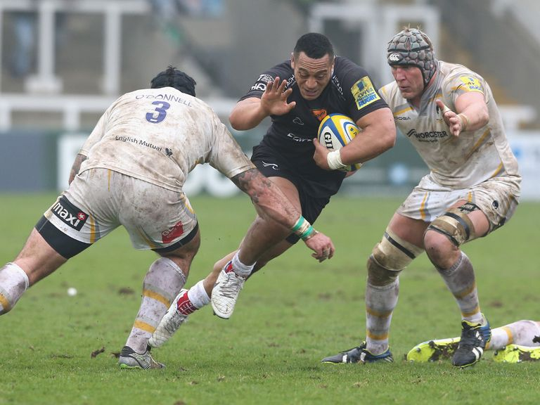 Sinoti Sinoti: New deal for Newcastle's Samoan winger