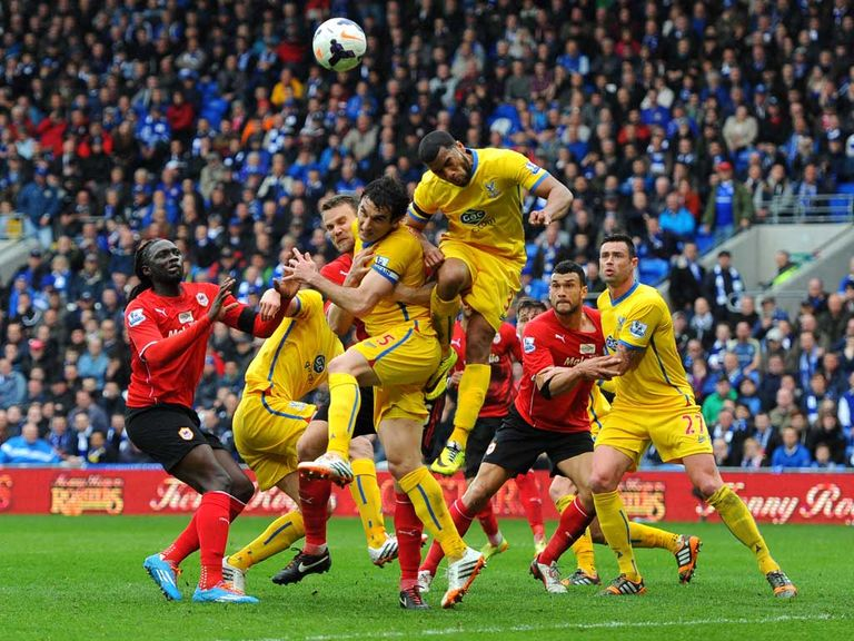 Crystal Palace won 3-0 away at Cardiff last season