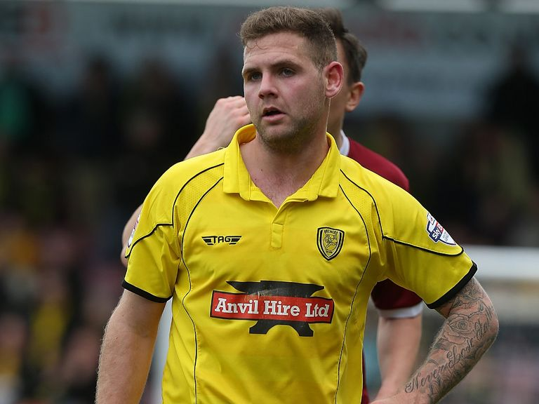 Billy Kee: On target for Burton