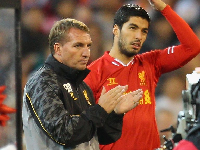 Brendan Rodgers wanted to keep Luis Suarez