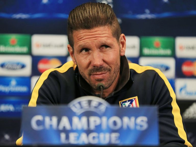 Simeone Atletico: Backing hos goalkeeper to shine