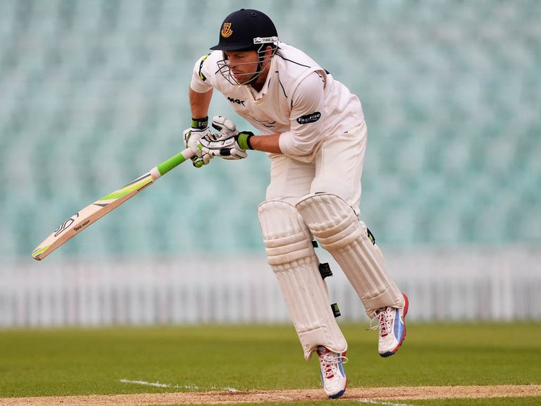 Ed Joyce: Hit his second century at Edgbaston