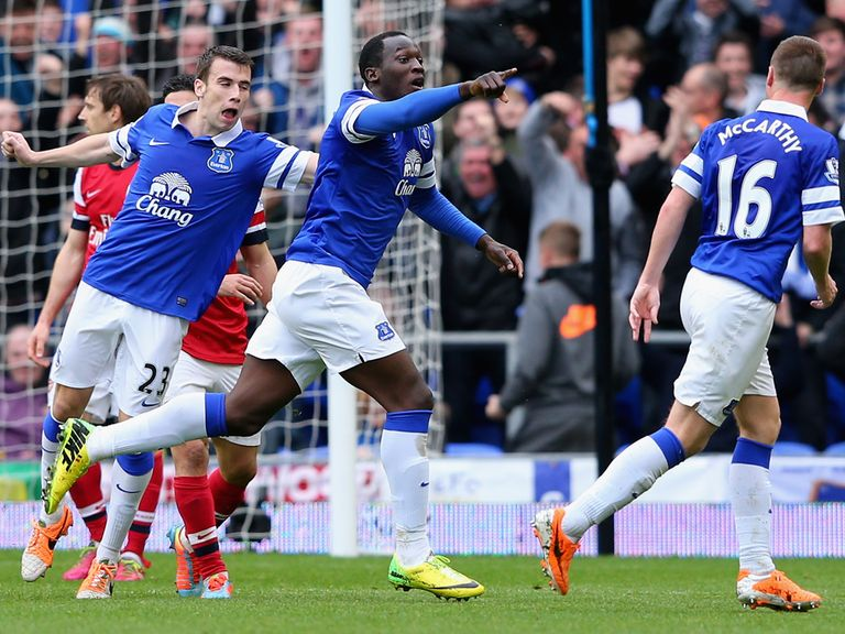 Romelu Lukaku can help Everton maintain their fine form
