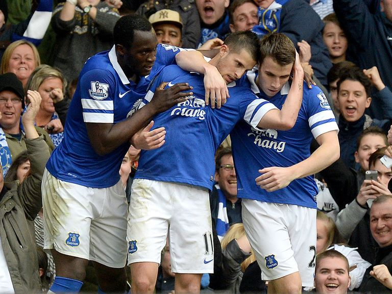 Everton are keeping up their push for fourth place in the Premier League