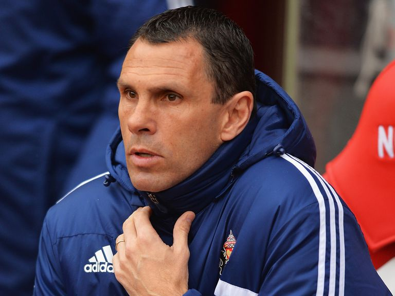 Gus Poyet: Looking forward to the visit of West Brom
