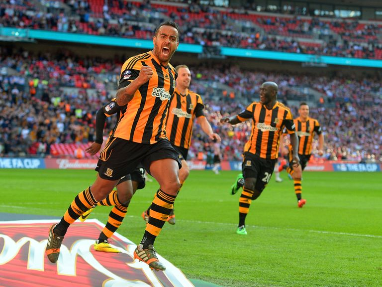Hull: Tipped up at 100/1 back in January and now just 11/4 for FA Cup glory