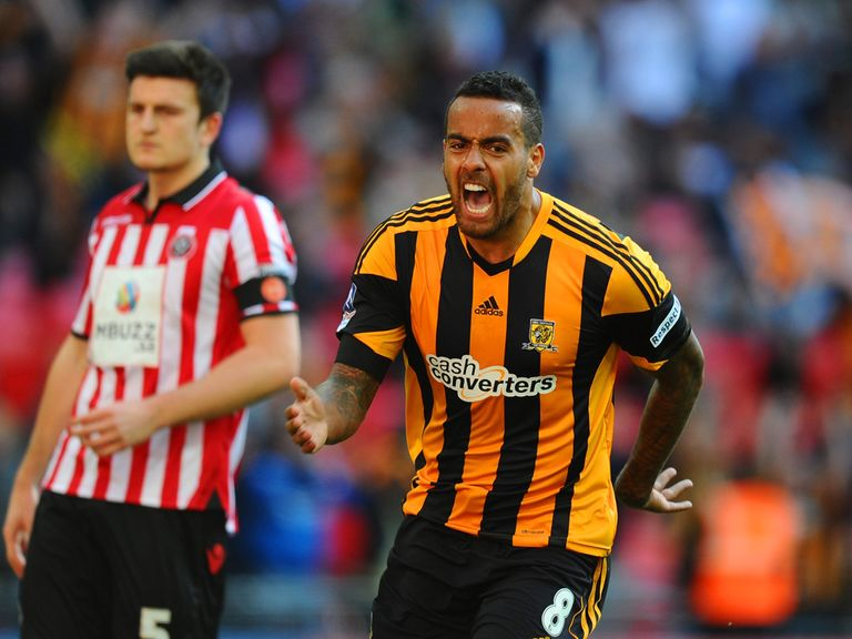 Tom Huddlestone enjoys the semi-final victory over Sheffield United