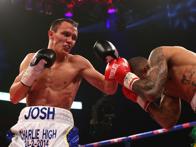 Josh Warrington: Hopes to to get a shot at the British title