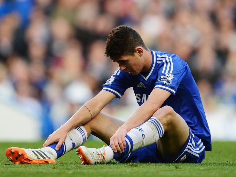 Oscar sums up the mood after Chelsea's shock defeat