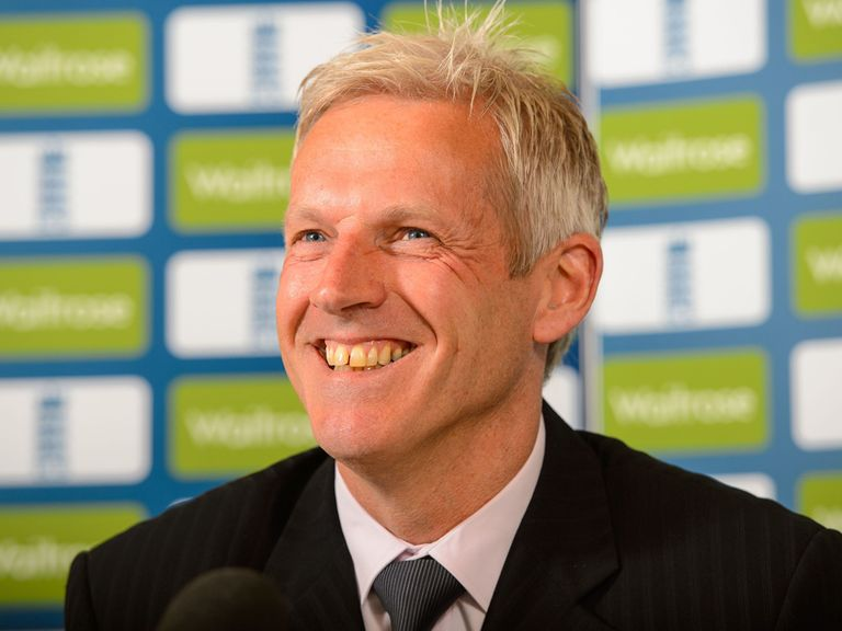 Peter Moores: New man at the England helm