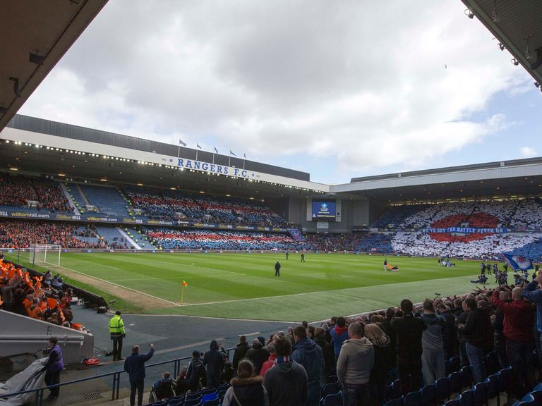 Ibrox: Will stage its first Scotland game in 15 years in October