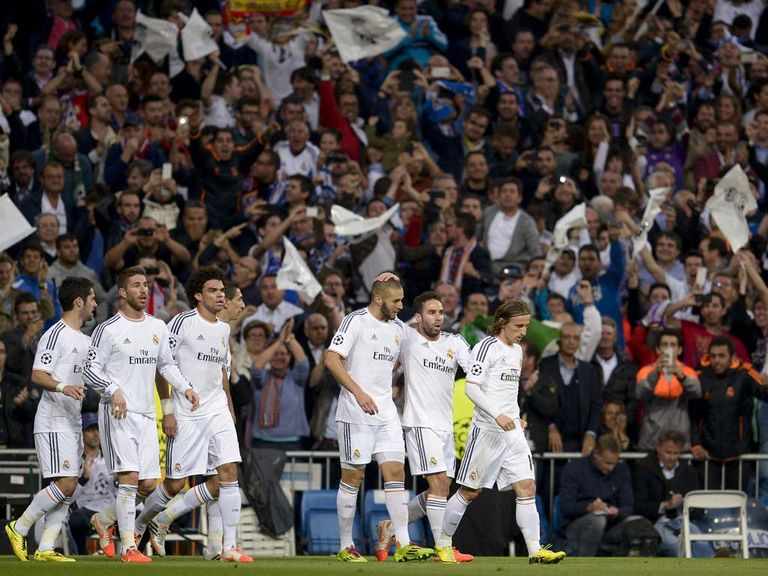 Real Madrid can win the battle of the European behemoths