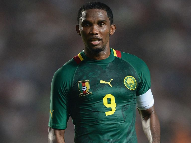 Samuel Eto'o: Close to Everton deal