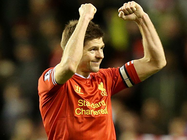 Steven Gerrard: On the six-man shortlist
