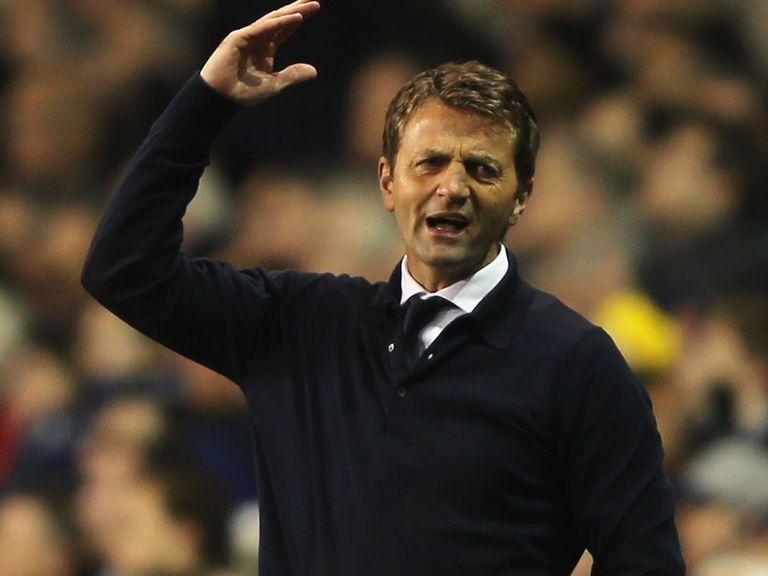 Tim Sherwood: Baptism of fire as Spurs boss