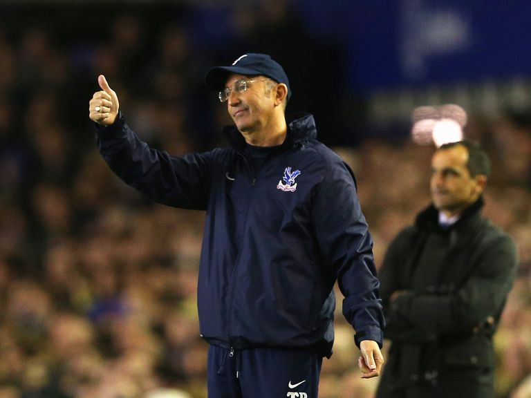 Tony Pulis: Demanding a performance from his players on Monday