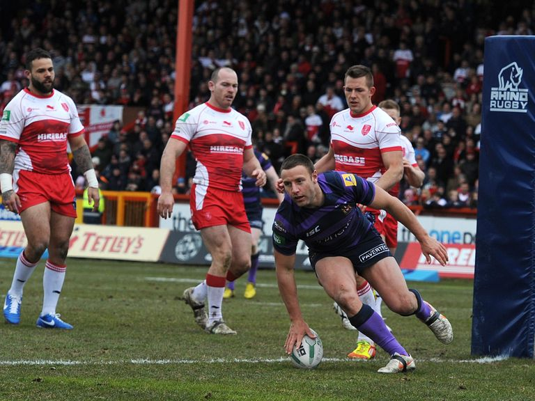 Hull KR were thumped 84-6 by Wigan last Easter