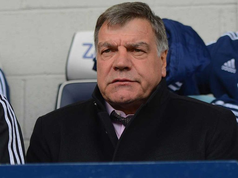 Sam Allardyce: Not happy with those calling for his head